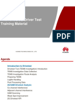 Huawe 2G&3G Driver Test Training V1.3
