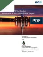 358051-PRO-RP-4000 Rev.a Verification & Recommendation Report, Ashour