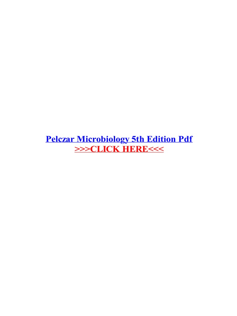 Pelczar microbiology 5th edition pdf earth life sciences biology fandeluxe Images