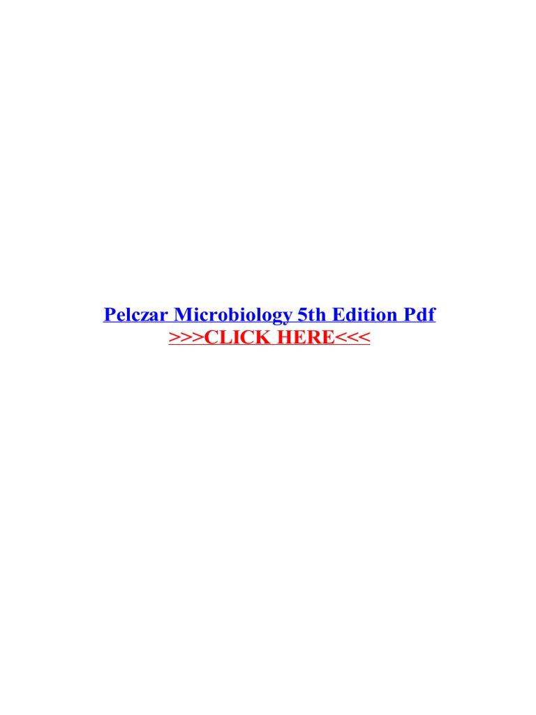 pelczar microbiology 5th edition pdf earth life sciences biology