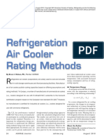Air Cooler Rating Method