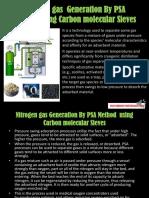 carbon molecular sieve nitrogen generation.!