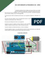 Puerta Corrediza Con Sensor Ultrasonico Hc