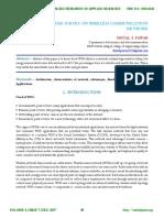 LITERATURE SURVEY ON WIRELESS COMMUNICATION NETWORK.http://iaetsdjaras.org/