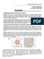 Bulletin 08 - Emulsification Properties