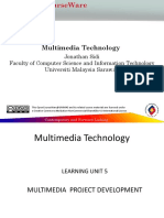 Multimedia Project Development