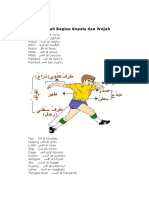 Bahasa Arab Bagian Kepala Dan Wajah