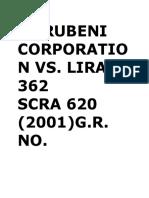 Marubeni Corporation Vs