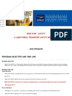 Safety a Land Public Transport Safety Initiative_jaya Prakash