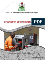 Final Concrete Mix Design Manual