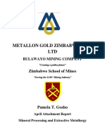 How Mine Milling Section Report