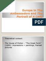 Seminar the Ambassadors, The Portrait of a Lady