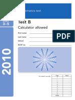 2010 Maths Paper b