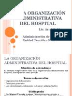 organizacion de hospitales