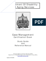 01 Oaa Cfc Case Management Certification Reference Manual and Study Guide