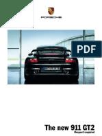 Porsche 911 GT2 brochure
