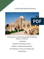 One miracle  of Hadrat Khaja Bahauddin Naqshaband