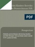 Deteksi Kanker Serviks Dengan Pemeriksaan IVA