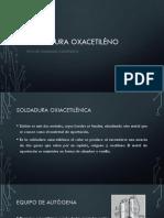 SOLDADURA OXACETILÉNO