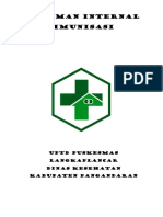 Pedoman Internal Imunisasi
