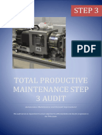 Autonomous Maintenance Step 3 Audit Sheet