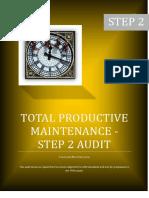 Planned Maintenance Step 2 Audit Sheet