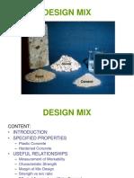 Design Mix