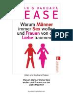 Allan Und Barbara Pease - Warum M 228 Nner Immer Se