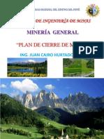 Tema 30-Mg- Plan de Cierre de Minas