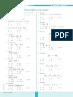 Ficha de Refuerzo Ecuaciones de Primer Grado