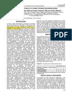 Artigo - O Ensino de Física e o Curso Técnico Em Edificações