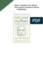 pdfdownloadtheycamebeforecolumbustheafricanpresenceinancientamericajournalofafricancivilizationseboo-171206031137