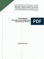 PEDOMAN. PENGENDALIAN REMBESAN PADA BENDUNGAN URUGAN.pdf