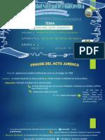FRAUDE DEL ACTO JURIDICO GRUPO N° 3 ORIGINAL