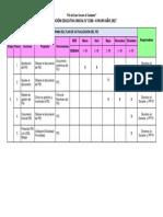 Cronograma Del Plan de Actualización Del PEI IEI 1580