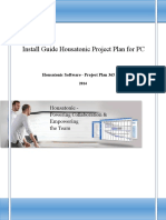Install Guide Housatonic Project Plan 365 Pc