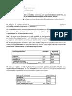 Modelo de Cuestionario Sobre Coordinación Socio Sanitaria Docx
