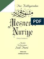 Said Nursi- Mesnevi-i Nuriye- Envar Neşr.1996
