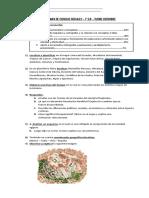 Examen de Ciencias Sociales Diciembre 1