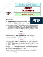 CBA Business Taxation Updated