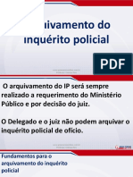 Direito Processual Penal - Aula 06 - Inquérito Policial (Parte VI)