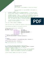 Coding MATLAB