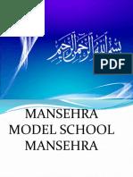 Mansehra Model School