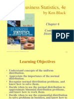 Chapter 6 Continuous Distributions