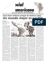`Foro Social Latinamericano', Green Left Weekly's Spanish-language supplement, Sept. 2010 issue