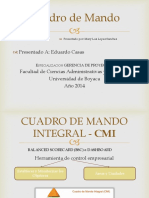 Cuadro de Mando Business Intelligence