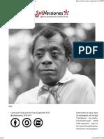 James Baldwin Guerrero de La Palabra