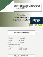 Ardiansyah Nefrolitiasis D