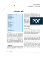 ABCs of Credit Card ABS