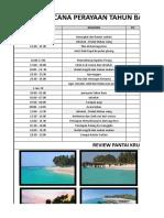 rencana liburan pulau pisang